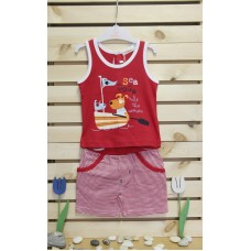Babybol Vest and pants set Sea dogs