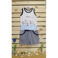 Babybol Vest and pants set Sea games