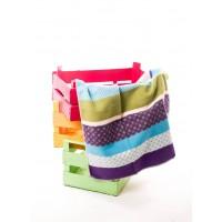 David Fussenegger Baby Blanket Juwel 70х90 Kroko Blue&Green