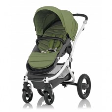 Britax Baby Stroller Affinity Cactus Green - White