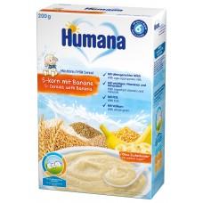 Humana Млечна каша 5 зърна с банан