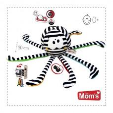 Mom's care Музикална играчка за новородени Октопод