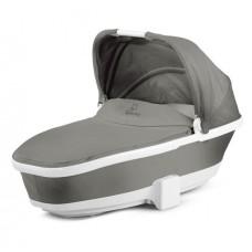 Quinny Carrycot Grey gravel white