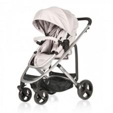 BabyHome Комбинирана бебешка количка 2 в 1 Liz, Сива