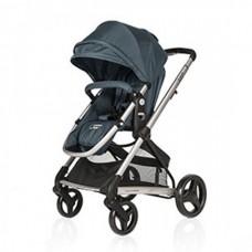BabyHome Комбинирана бебешка количка 3 в 1 Citrus, Синя