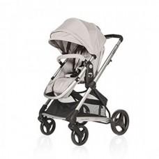BabyHome Комбинирана бебешка количка 2 в 1 Citrus, Сива