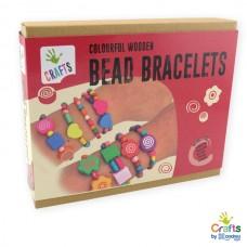 Andreu Toys Colourful Wooden Bead Bracelets