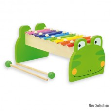 Andreu Toys Frog Xylophone Green