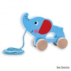 Andreu Toys Играчка за дърпане Слонче