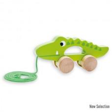 Andreu Toys Играчка за дърпане Крокодил