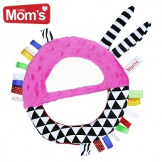 Mom's care Baby Mirror, Pink
