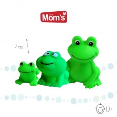 Mom's care Frog Family, 3 pcs
