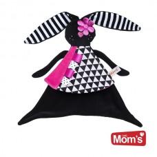 Mom's care Мека играчка - одеялце за гушкане Зайче