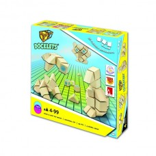 Beluga Wooden puzzle with velcro