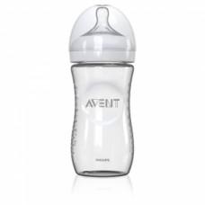 Philips Avent  Стъклено шише за хранене Natural 240ml