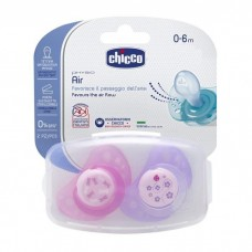 Chicco Silicone Physio Air Soother 0-6m