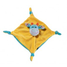 BabyOno Soft pacifier toy Cow