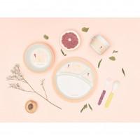 Babymoov Bamboo Комплект за хранене от бамбук, Peach