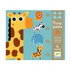 Djeco Primo puzzle In the jungle