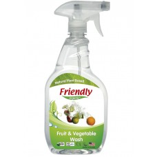 Friendly Organic - Organic detergent for washing fruits and vegetables