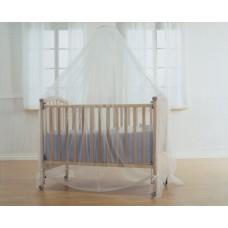 BabyDan Комарник балдахин за легло Бял