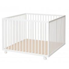 BabyDan Кошара на 3 нива Comfort Бяла