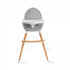 KinderKraft Столче за хранене Fini 2 в 1 сиво
