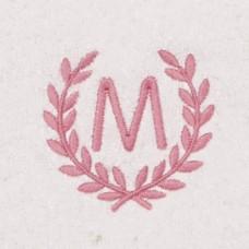 Ласка Bathrobel with monogram Pink