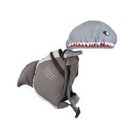 LittleLife Shark Toddler Backpack with Rein