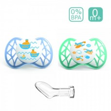 Nuvita Anatomical silicone soother