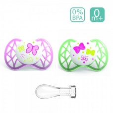 Nuvita Anatomical silicone soother AIR55 SYM