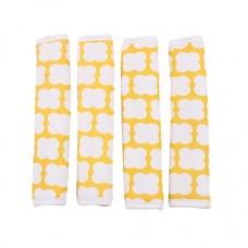 Minene Individual Cot Bumper Bundle, 4pcs. Yellow printed