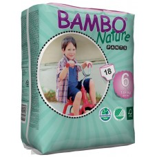 Bambo Nature Eco nappies - pants XL, 18pcs. - size 6