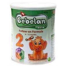 Bebelan Мляко за кърмачета Lacta 2 (6 - 12 м), 400 гр.