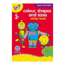 Galt Colour,Shapes and Sizes Sticker Book