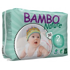 Bambo Nature Eco nappies Mini, 30pcs. - size 2