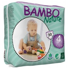 Bambo Nature Eco nappies Maxi, 30pcs. - size 4
