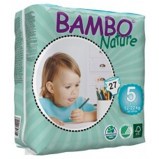 Bambo Nature Eco nappies Junior, 27pcs. - size 5