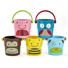 Skip * Hop Zoo Stack & Pour buckets, 5 pcs