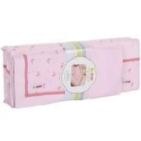 Minene Луксозен спален комплект розови цветя