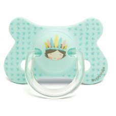 Suavinex - Аnatomical silicone pacifier 4-18m.