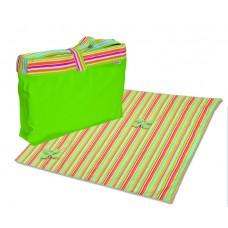 Minene Picnic Mat & Bag Green