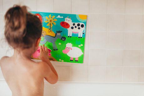 Superb Prince Lionheart Bath Puzzle   Farm